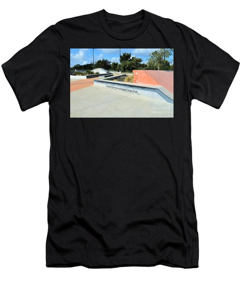 Men's T-Shirt (Slim Fit) featuring the photograph Skate Park by Ray Shrewsberry