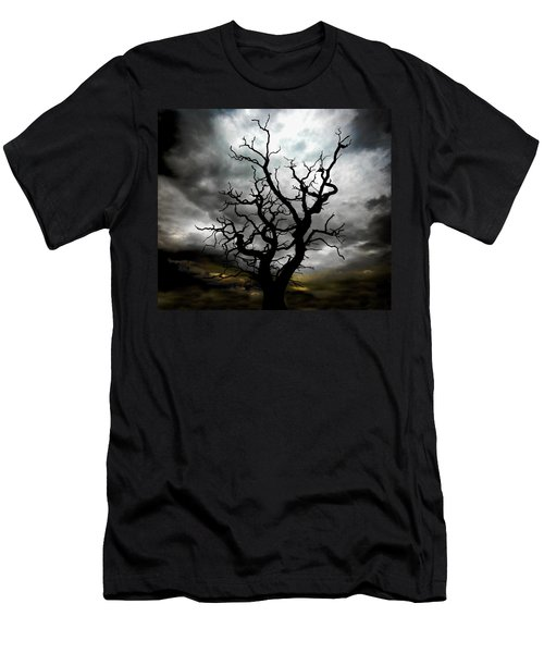 Skeletal Tree Men's T-Shirt (Athletic Fit)