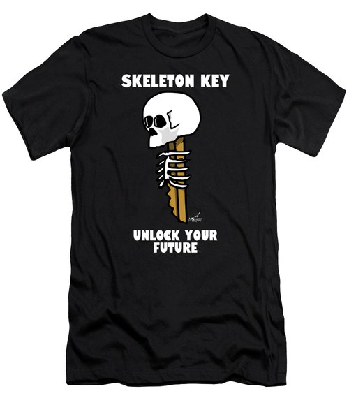 Skeleton Key - Dark Men's T-Shirt (Athletic Fit)