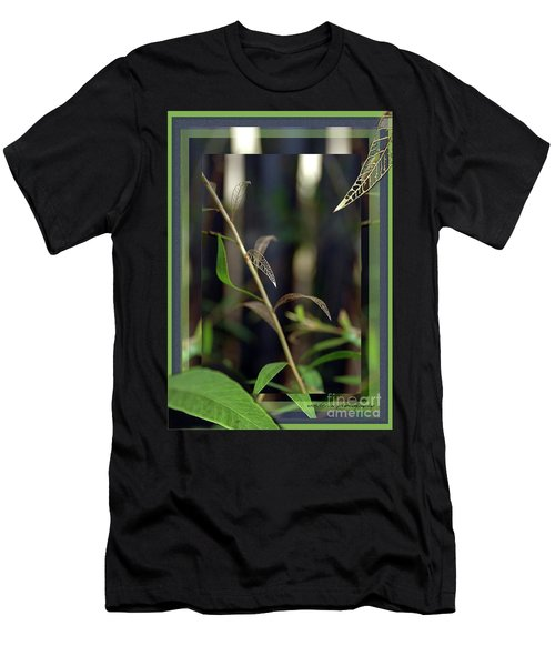 Men's T-Shirt (Slim Fit) featuring the photograph Skeletons And Skin by Vicki Ferrari