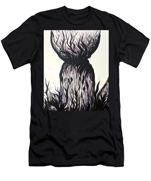 Sketchy Latte Stone Men's T-Shirt (Athletic Fit)