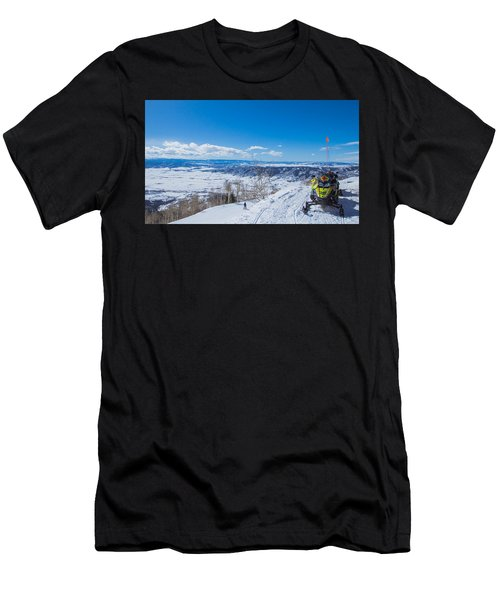 Ski Patrol Men's T-Shirt (Athletic Fit)