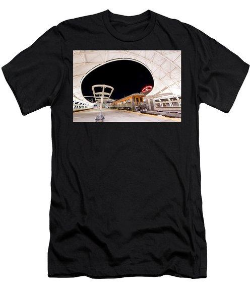 Ski Train Men's T-Shirt (Athletic Fit)