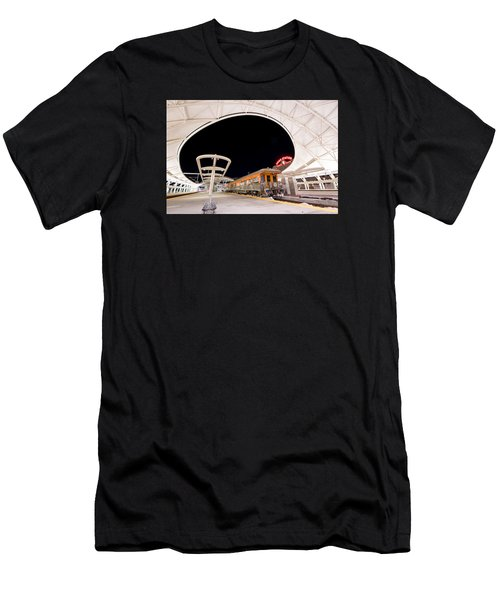 Ski Train Men's T-Shirt (Athletic Fit)