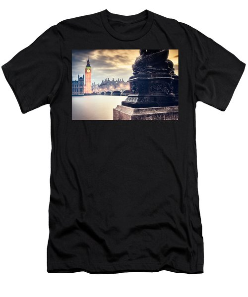 Skies Over London Men's T-Shirt (Athletic Fit)