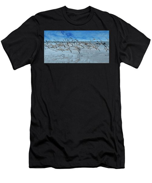 Skimmers Men's T-Shirt (Athletic Fit)