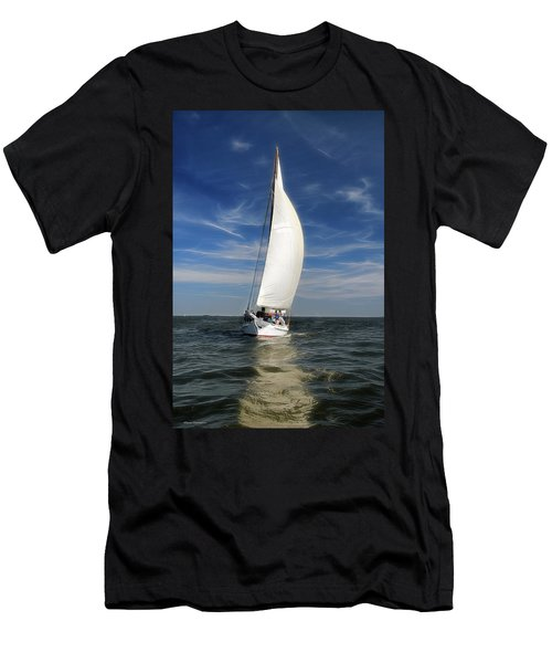 Skipjack Races 1 Men's T-Shirt (Athletic Fit)