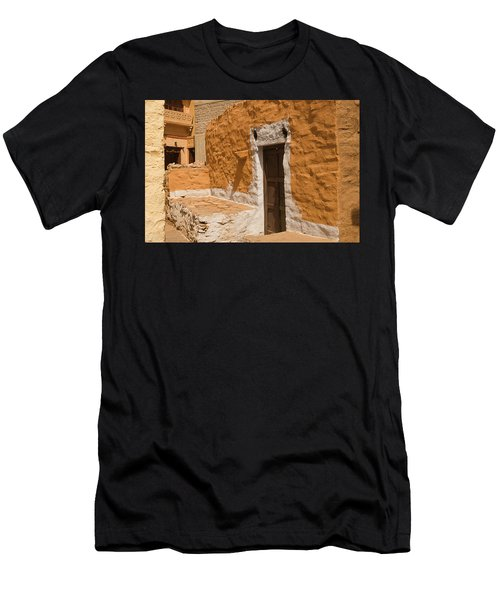 Skn 1264 Thatched House Men's T-Shirt (Athletic Fit)