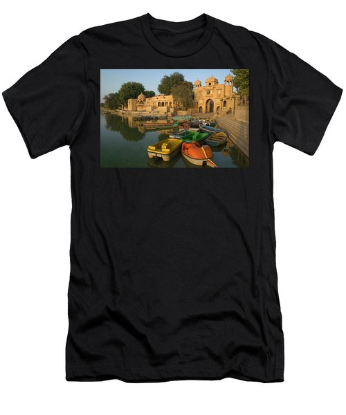 Skn 1391 Visit To Gadisar Lake Men's T-Shirt (Athletic Fit)