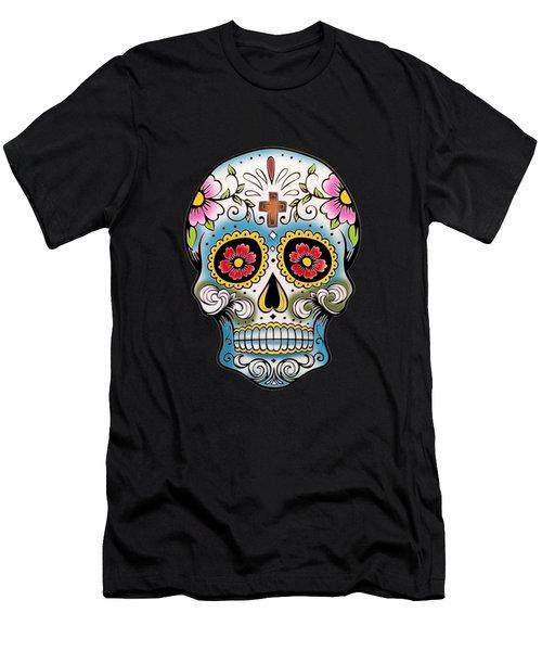 Skull 10 Men's T-Shirt (Athletic Fit)