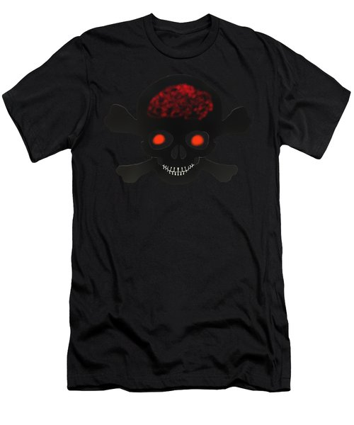 Skull And Bones Men's T-Shirt (Athletic Fit)