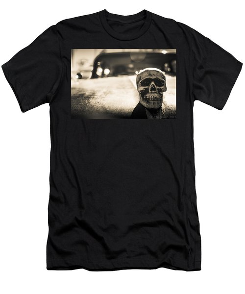 Skull Car Men's T-Shirt (Athletic Fit)