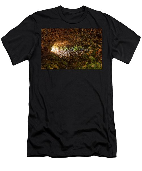 Skull Cave Men's T-Shirt (Athletic Fit)