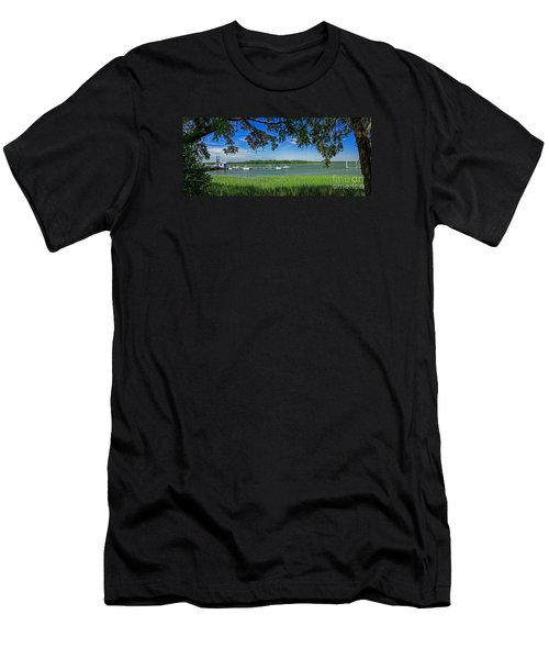 Skull Creek Area Men's T-Shirt (Athletic Fit)