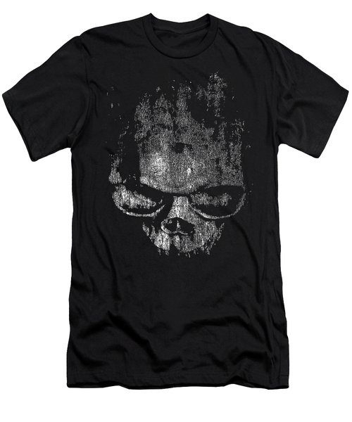 Skull Graphic Men's T-Shirt (Athletic Fit)