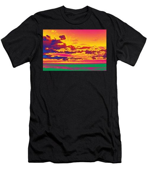 Sky #1 Men's T-Shirt (Athletic Fit)