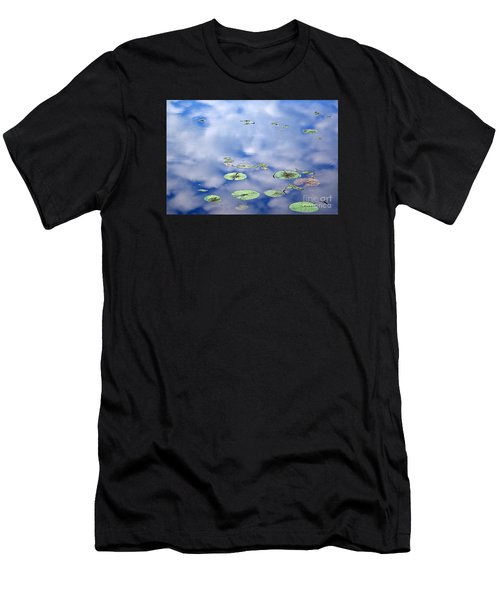 Sky And The Lily Pads Men's T-Shirt (Athletic Fit)