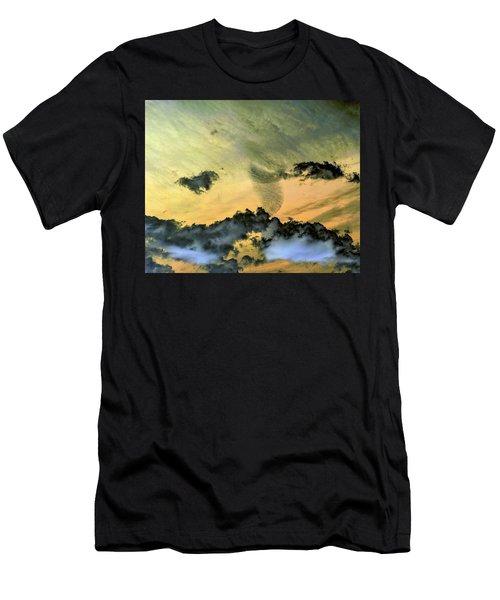 Cloud Art Inverted Colors Men's T-Shirt (Athletic Fit)