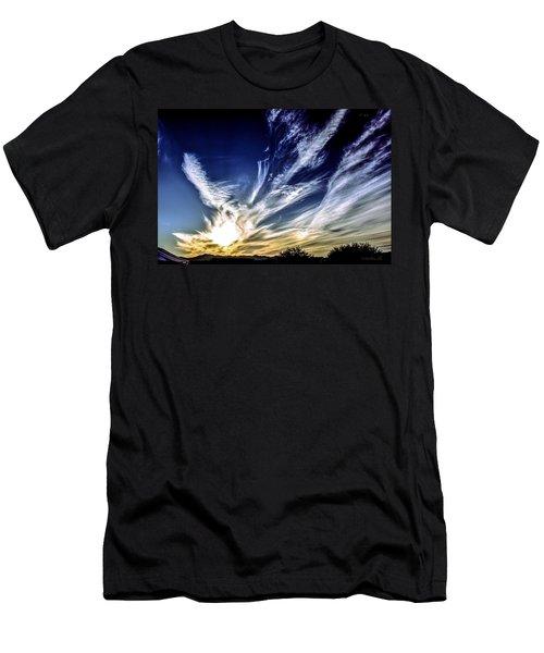 Sky Artistry Over Chandler Arizona Men's T-Shirt (Athletic Fit)
