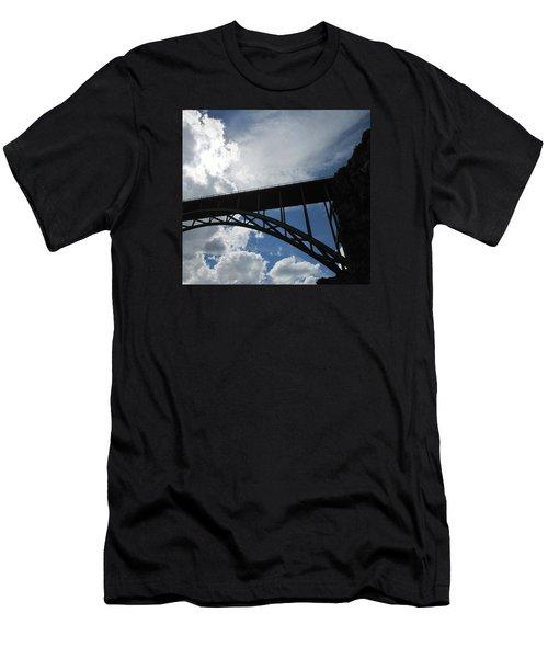 Sky Bridge Men's T-Shirt (Slim Fit) by Jeff Gater
