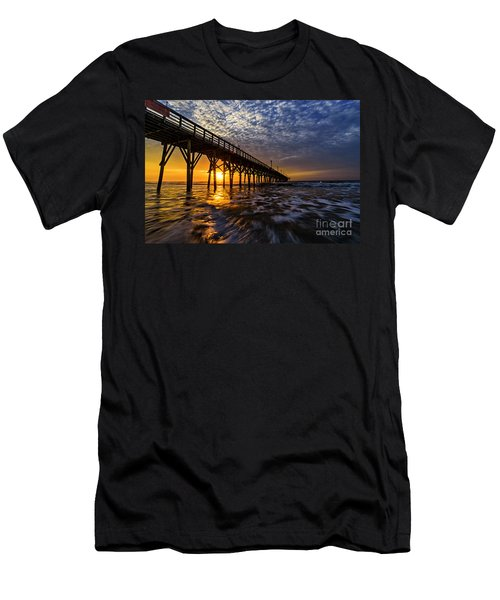 Sky Divided Men's T-Shirt (Athletic Fit)