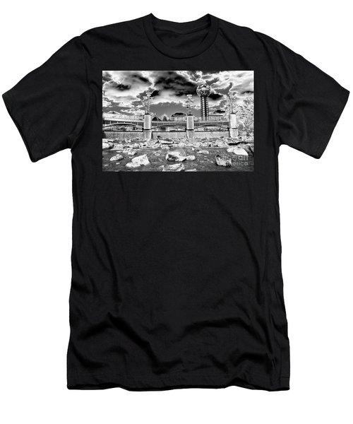 Sky Dome - Se1 Men's T-Shirt (Athletic Fit)