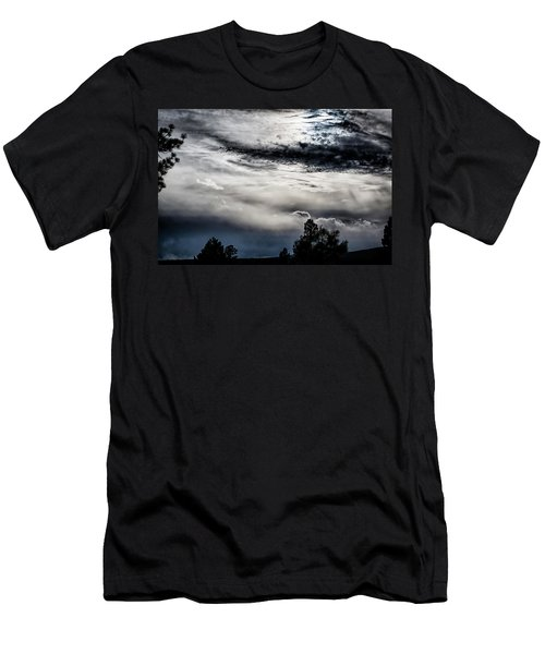 Sky Drama Men's T-Shirt (Athletic Fit)