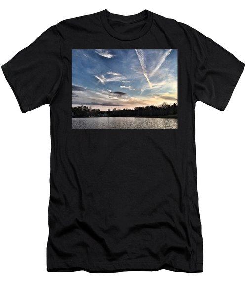 Sky Drama Men's T-Shirt (Athletic Fit)