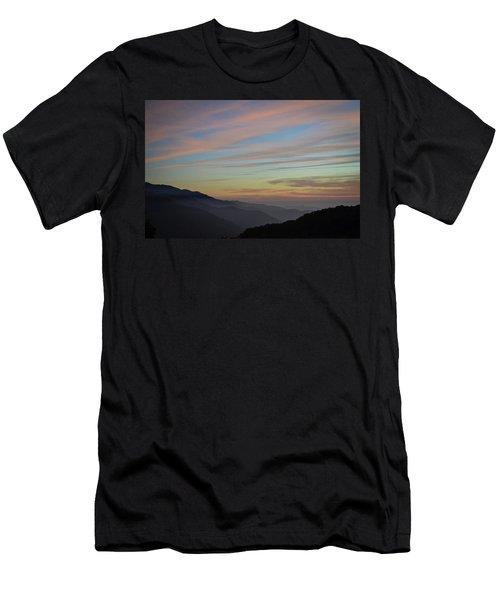 Sky Haze Men's T-Shirt (Athletic Fit)
