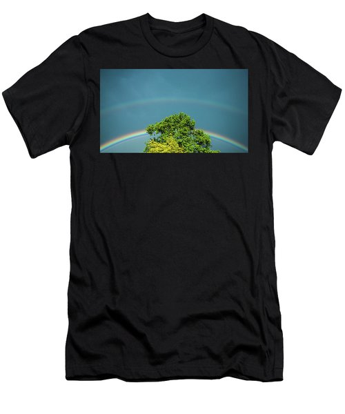 Men's T-Shirt (Athletic Fit) featuring the photograph Sky Is Falling by Tyson Kinnison