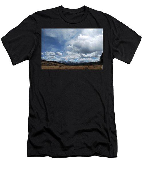 Sky Of Shrine Ridge Trail Men's T-Shirt (Athletic Fit)