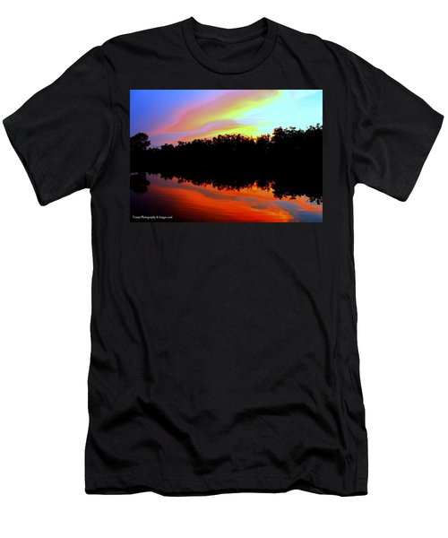 Sky Painting Men's T-Shirt (Athletic Fit)