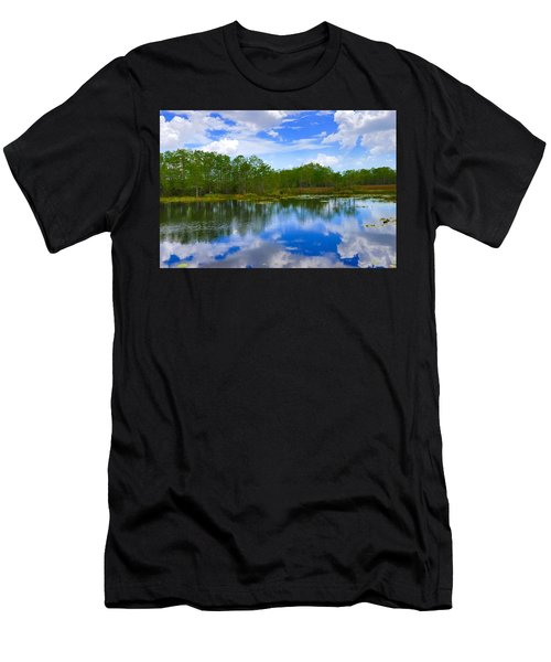 Sky Reflections Men's T-Shirt (Athletic Fit)