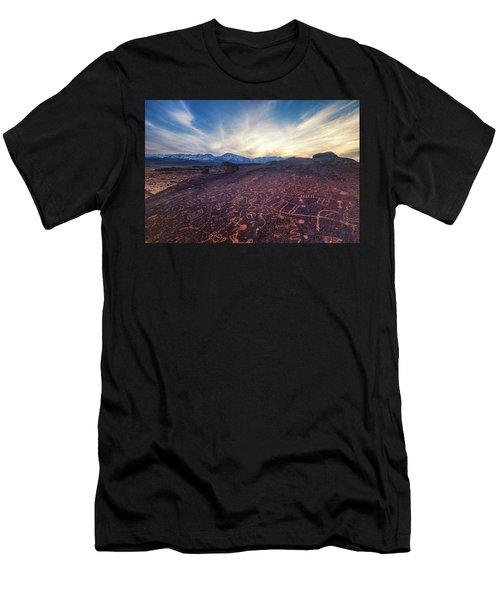Sky Rock Men's T-Shirt (Athletic Fit)