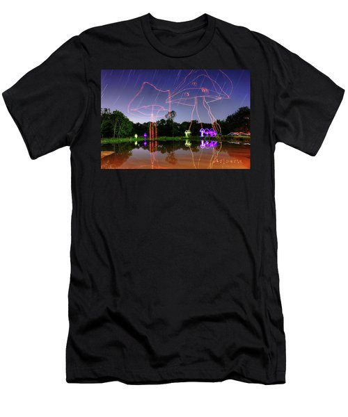 Sky Shrooms Men's T-Shirt (Athletic Fit)