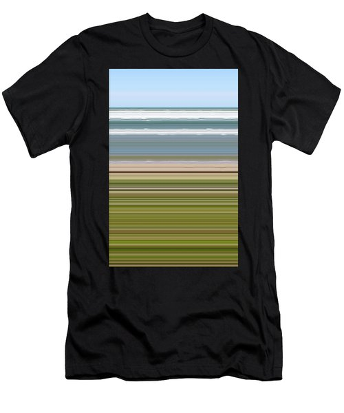 Sky Water Earth Grass Men's T-Shirt (Athletic Fit)