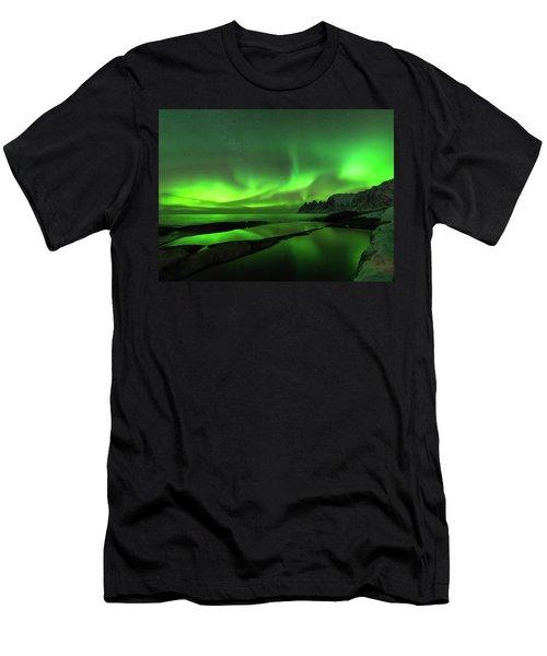 Skydance Men's T-Shirt (Slim Fit) by Alex Lapidus