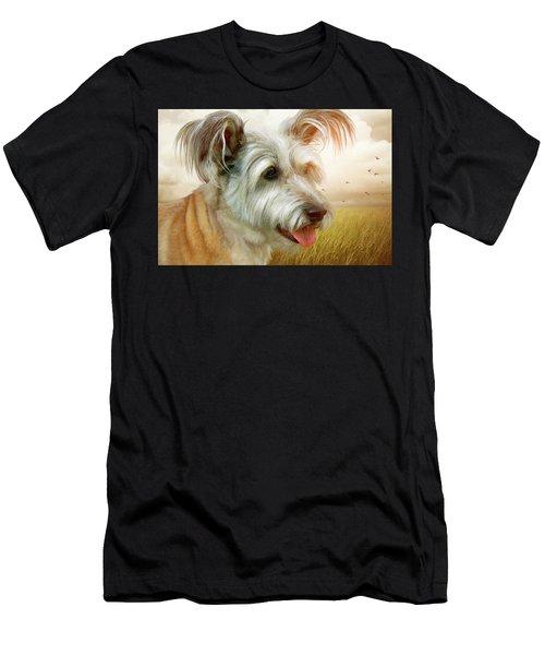 Skye Terrier Men's T-Shirt (Athletic Fit)