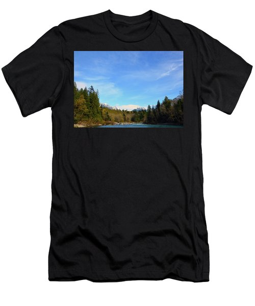 Skykomish River And Persis Men's T-Shirt (Athletic Fit)