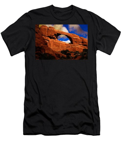 Skyline Arch Men's T-Shirt (Slim Fit) by Harry Spitz