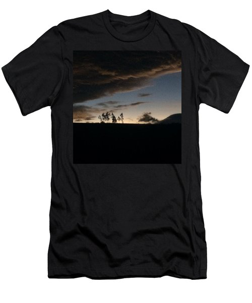 Skyline Men's T-Shirt (Slim Fit) by Eli Ortiz