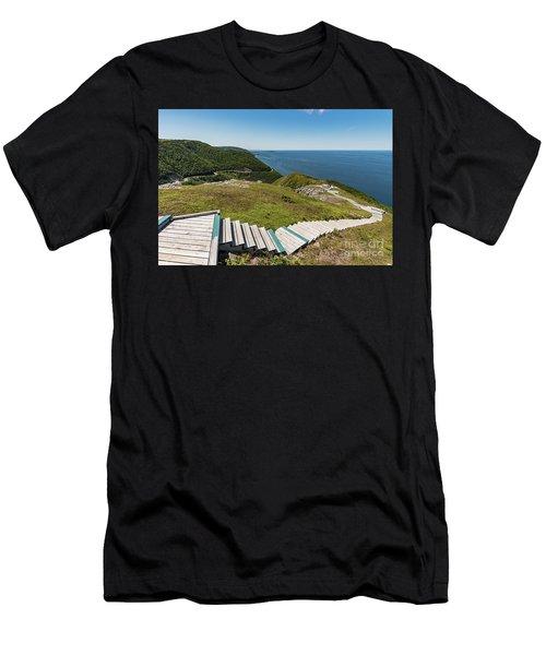 Skyline Trail Men's T-Shirt (Athletic Fit)