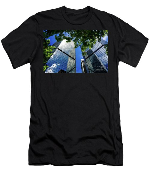 Skyscraper Spring Men's T-Shirt (Athletic Fit)