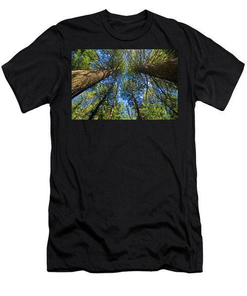 Men's T-Shirt (Athletic Fit) featuring the photograph Skyward by Gary Lengyel
