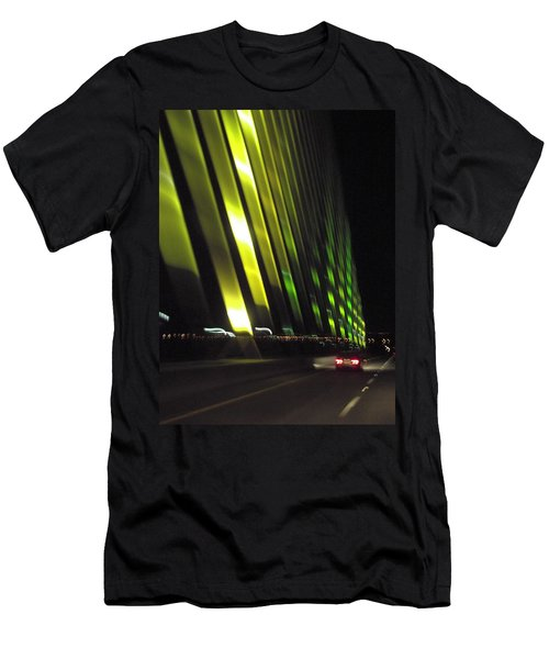 Skyway At Night 5559 Men's T-Shirt (Athletic Fit)