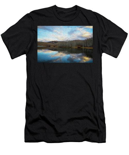 Slack Weiss Lake Men's T-Shirt (Athletic Fit)