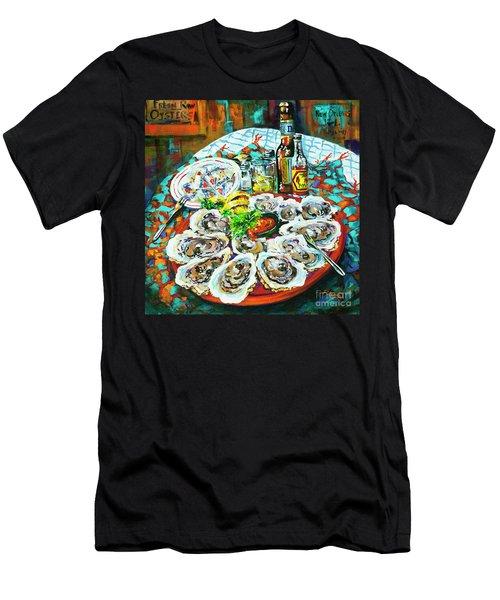 Slap Dem Oysters  Men's T-Shirt (Athletic Fit)