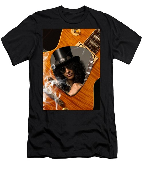 Slash Art Men's T-Shirt (Athletic Fit)