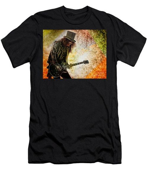 Slash - Guitarist Men's T-Shirt (Athletic Fit)