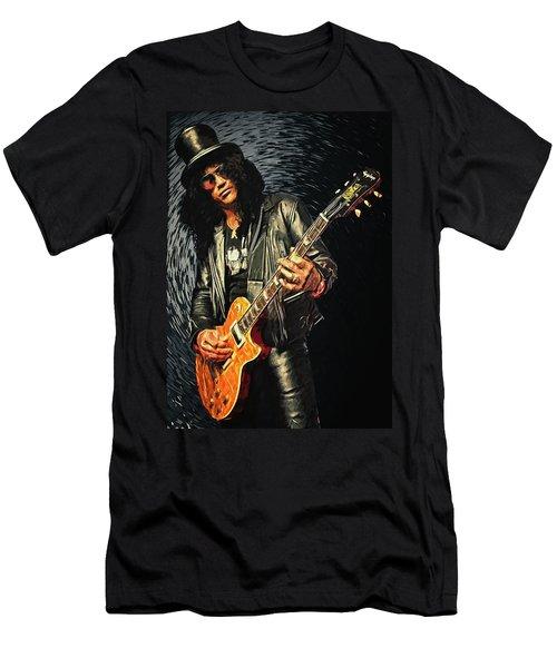 Slash Men's T-Shirt (Athletic Fit)